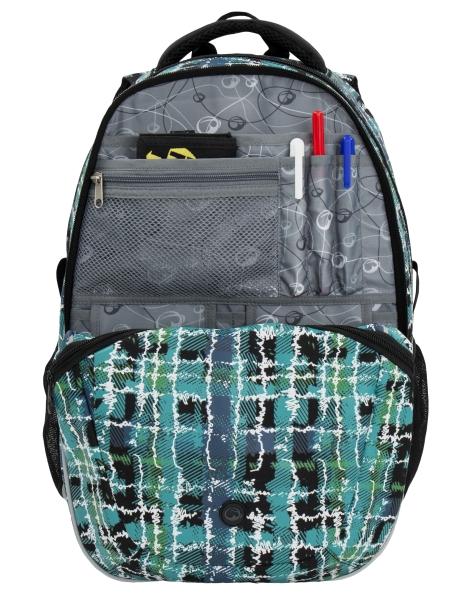 72e0e57224 Školní batoh BAGMASTER MADISON 6 D BLACK BLUE. Batoh vhodný OD 4. TŘÍDU AŽ  PO STŘEDNÍ ŠKOLY